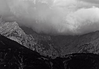 Bergkuliss bei Gnadenwald