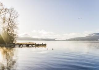 Lake Tarawera, Rotorua, North Island, New Zealand