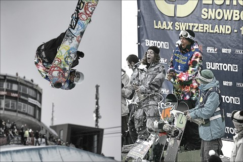 Kevin Pearce, Burton European Open, Laax, Switzerland